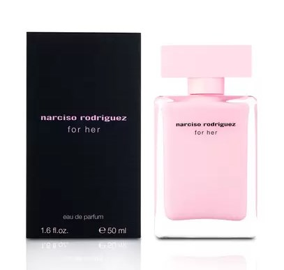 Narciso Rodriguez for her perfume