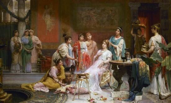 roman perfume history