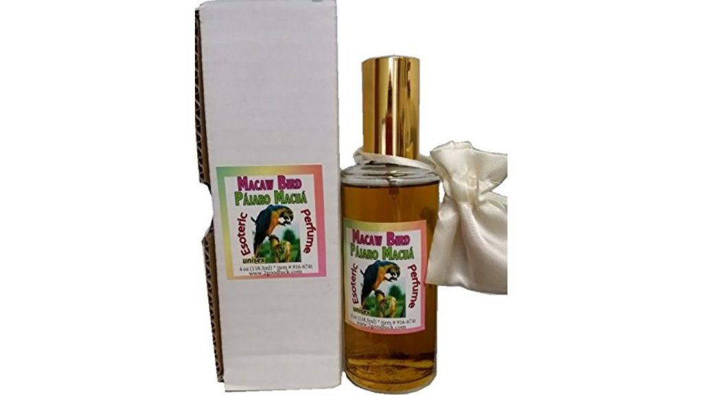 Perfume With Pheromones and Amulet, Triple Good Luck