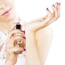 Where to apply perfume