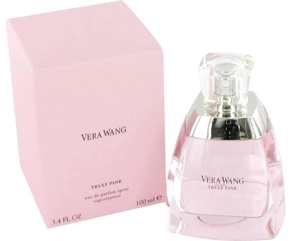 Vera Wang: Truly Pink aroma floral para todo el día
