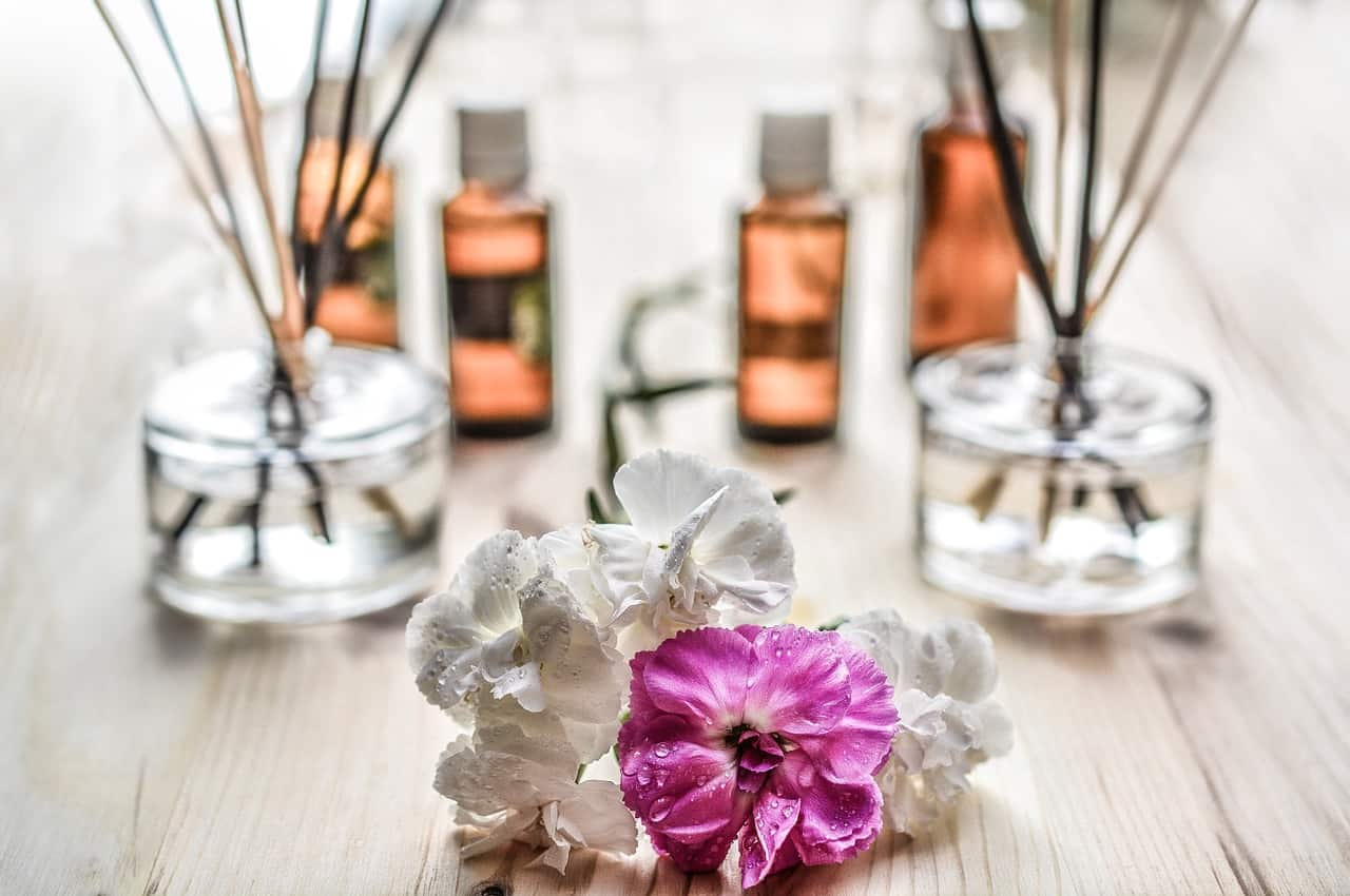 The chemical composition of the perfume