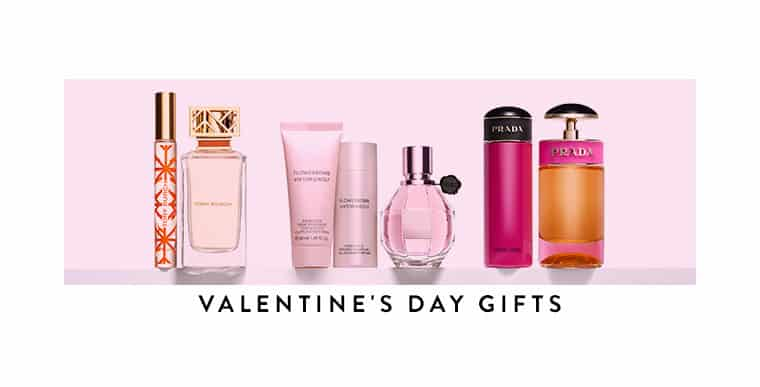 6 Romantic Perfume Scents – Cologne Valentine Day Gift