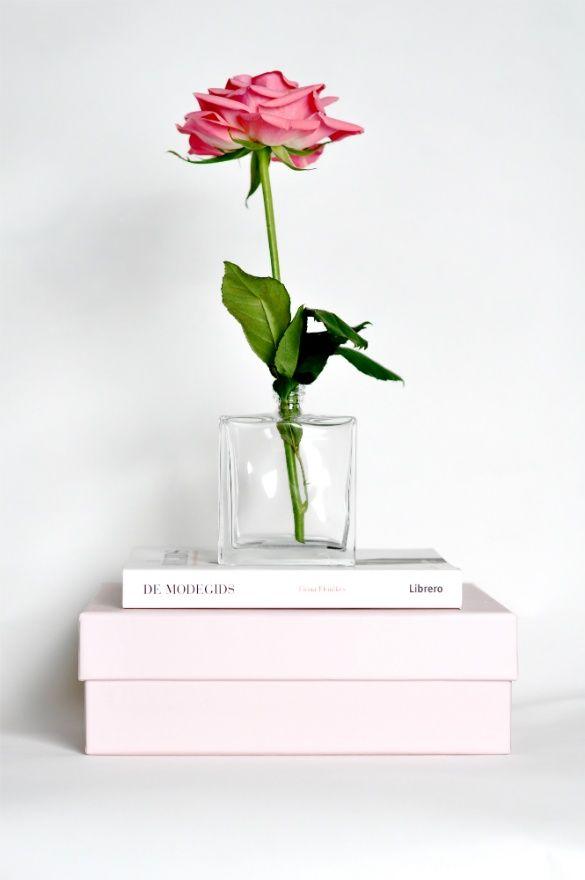 Perfume Bottles as Vases