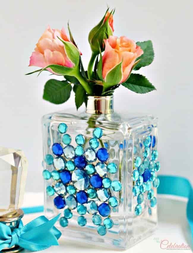 Perfume Bottles into Ornaments