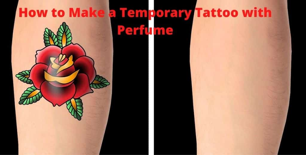 How to Make a Temporary Tattoo with Perfume